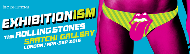 The Rolling Stone Exhibitionism is coming to London's Saatchi Gallery